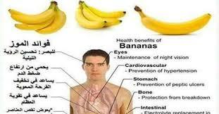 نتيجة بحث الصور عن فوائد الموز
