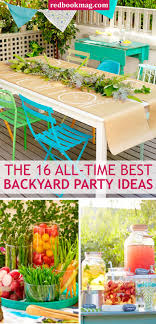 BACKYARD SPRING AND SUMMER PARTY IDEAS: Throw the best birthday party,  barbeque, and