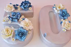 50th Birthday Cakes New Jersey Sugar Flowers Custom Cakes Sweet