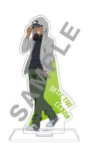 DETECTIVE CONAN Acrylic Strap Shinichi Kid Hattori Ran Haibara Akai Amuro  Unisex Clothing, Shoes & Accessories elele-gastro Unisex Accessories