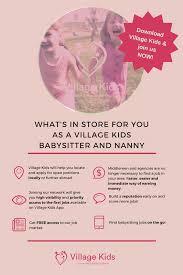 Find Babysitting Jobs In Your Area Villagekidsapp Hashtag On Twitter