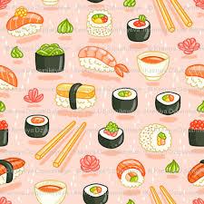 cute sushi wallpaper. Perfect Cute Sushi And Rolls Inside Cute Wallpaper U