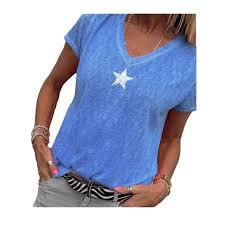 Walmart Time And Tru Size Chart Women V Neck Plus Size Short Sleeve T Shirt