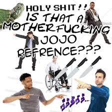 Is This A Jojo Reference Know Your Meme