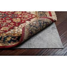 round rug pad