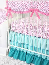 zoe s zebra pink aqua baby bedding caden lane