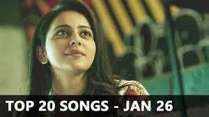 Top 20 Bollywood Songs Of The Week Radio Mirchi Charts January 26 2018