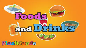 Food Flash Cards Flashcards For Kids Food Drink Kids Learn Study Food Drink