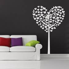 heart tree wall art on wall art heart designs with 25 creative diy wall art projects under 50 that you should try