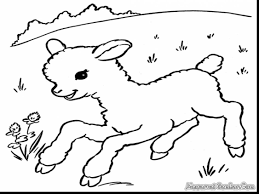 Small Picture astonishing lion and lamb coloring pages with lamb coloring page