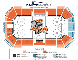 Gamblers Hockey Seating Chart Omaha Lancers Vs Green Bay Gamblers Ralston Arena