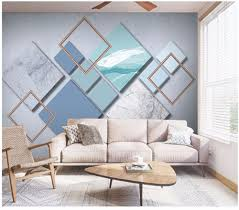 Beste Koop 3d Behang Custom Muurschildering Nordic Minimalistische