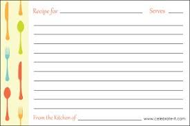 Free Printable Unlined Recipe Cards Download Them Or Print