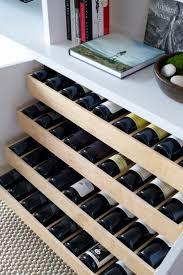 Wine Storage Kitchen Cabinet Built In Wine Rack Diy 2 Time Saving