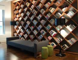 unique bookcase  home library design ideas for a remarkable