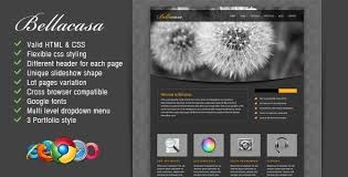 Modern Website Templates Cool Bellacasa Clean Modern Website Template By Designesia ThemeForest