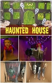 haunted house lighting ideas. haunted house for the little ones make a from cardboard box complete with spooky lighting and glowing windows this would be fun ideas