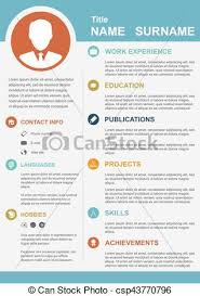 Personal Profile Template Infographic Template With Icons For Cv