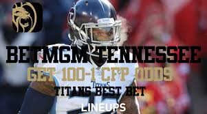 betmgm tennessee 100 1 odds for