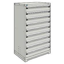 metal storage cabinets with drawers. rousseau metal modular storage drawer cabinet 36x24x60, 9 drawers (1 size) w/ cabinets with i