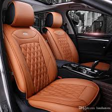 luxury pu leather car seat covers for honda crv xrv odyssey city crosstour crider vezel accord car accessories seat covers seat covers for seat covers