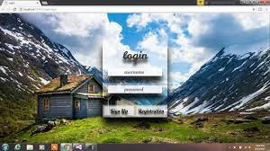 asp net login page design 3d