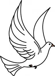 flying bird clipart black and white. Wonderful Clipart Flying Dove Clip Art Vector  Free Vector For Free Download On Bird Clipart Black And White Library