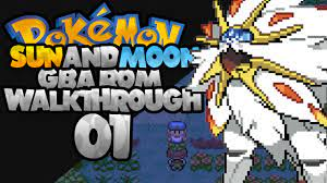Pokemon Ruby Sun (With Download) [Sun and Moon GBA] - YouTube