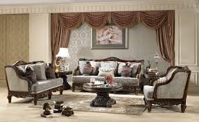 Traditional Chairs For Living Room Traditional Fabric Sofa Hd 912 Classic Fabric Sets Living