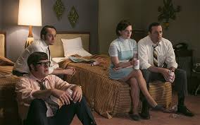 mad men season 7 episode 7 waterloo review transcendent the power of television peggy elisabeth moss and don draper jon hamm