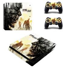 Dying Light Playstation 4 Store Us 8 79 12 Off Game Dying Light Ps4 Slim Skin Sticker Decal For Sony Playstation 4 Console And 2 Controller Skin Ps4 Slim Skins Sticker Vinyl In