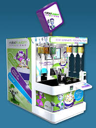 Vending Machine Franchise Singapore Enchanting Robots Ice Cream An Unforgettable Experience