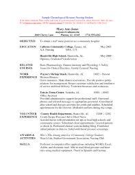 Sample Resume Of Nurse Nursing Resume Sample Complete Guide 20