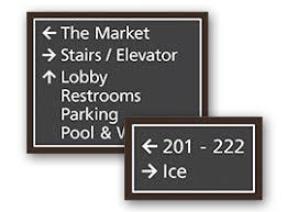 restroom directional sign. Directional Signs Restroom Sign E