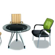 Small Round Office Table Round Office Table And Chairs Module Within