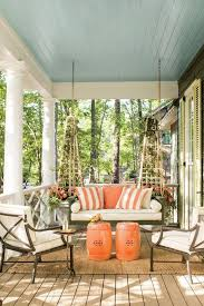 gorgeous porch ceilings in haint blue
