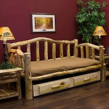 log cabin furniture ideas living room. aspen mountain snowload day bed rustic log furniturefurniture ideaslog bedroom cabin furniture ideas living room c