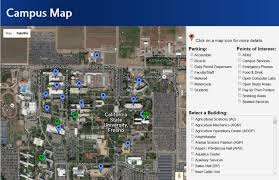 Campus Map Fresno State