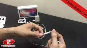 Tai nghe iPhone X chính hãng - zin bóc máy - YouTube