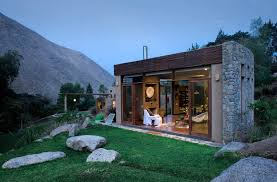 modern stone houses architecture, Modern Stone Houses Architecture Viilla  Peak Design Minimmalist