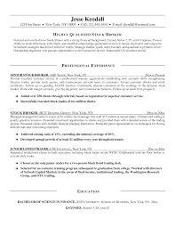 stock trader resume examples cipanewsletter how to write a government resume s trainer resume breakupus