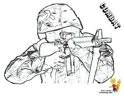 Gusto Coloring Pages To Print Army Free Military Color Online 40042