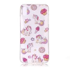 Unicorn High Transparency <b>Painting</b> Phone Case for iPhone XS / X ...