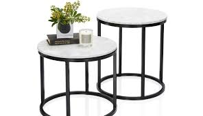 tray circular lamp room therapy for argos small kmart narrow table white gloss grey diy mirrored