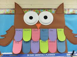 Owl Birthday Chart Birthday Chart Classroom Birthday
