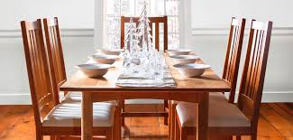 Wood dining tables Square Dining Tables Vermont Woods Studios Handcrafted Wood Dining Tables Vermont Woods Studios