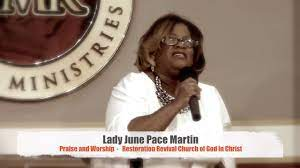 Lady June Pace Martin - RRC Praise and Worship - YouTube