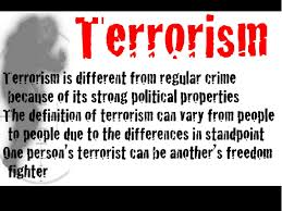 terrorism what why where how  3 global terrorism