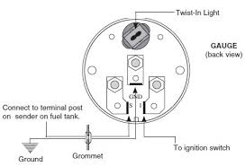 how to install auto meter voltmeter gauge electrical jeep logo 5 be sure that body or mounting flange of sender is grounded to suitable chassis ground