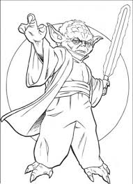 Small Picture Yoda Star Wars Coloring Pages Free Enjoy Coloring Superheroes